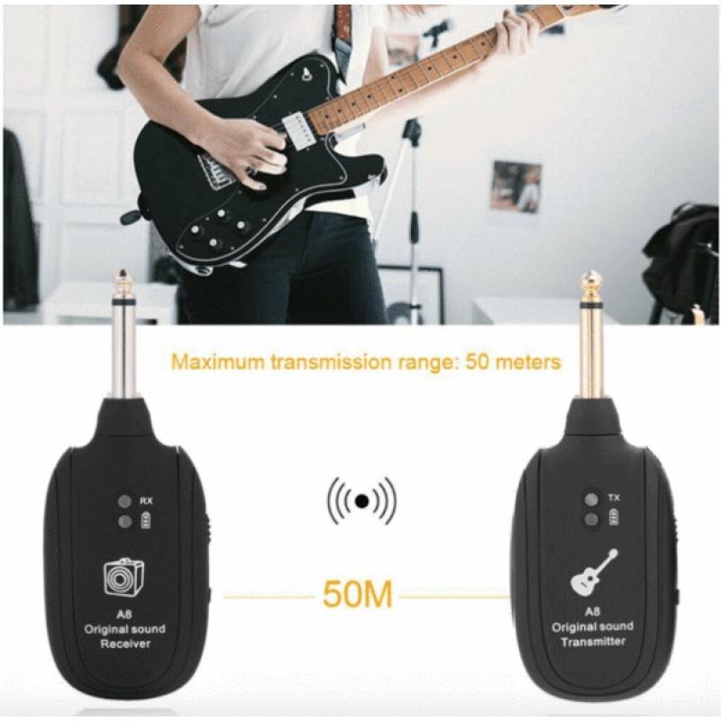 Guitar Wifi Transmitter Receiver Set | A8