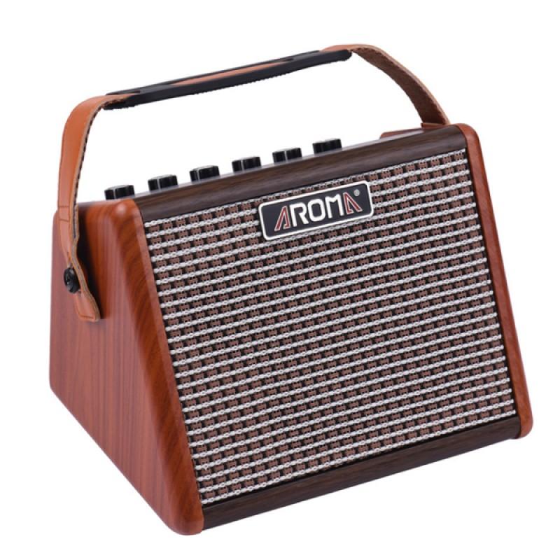 15W Portable Acoustic Kalimba/Guitar Amplifier