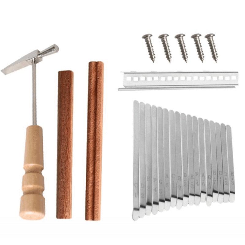 17 Keys Tines Set