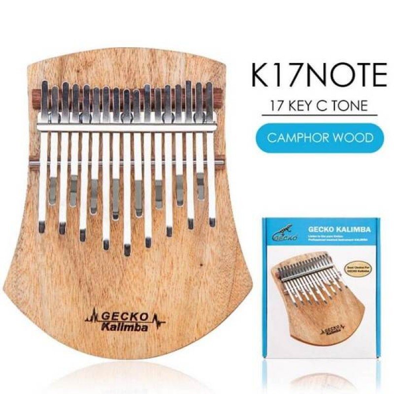 Gecko Thumb Piano Kalimba K17 Note