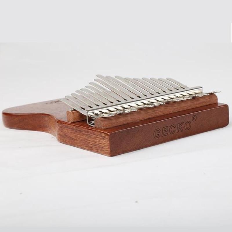 GECKO 17 Note Kalimba Mahogany wood | B Major