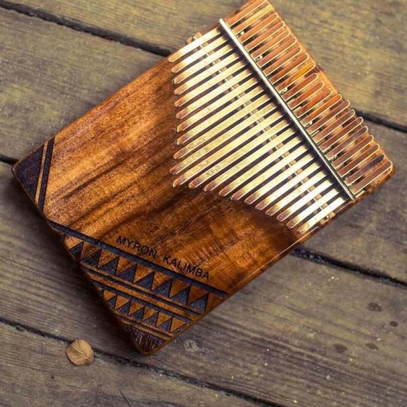 Myron KOA Flateboard Kalimba | 17/21 Keys