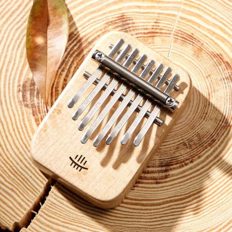 Hluru 8 Keys Mini Kalimba | Maple Wood