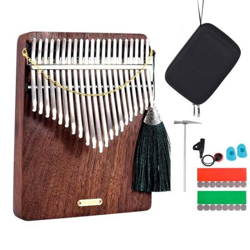 LingTing 21 Keys Walnut Wood Kalimba | Listen To T...