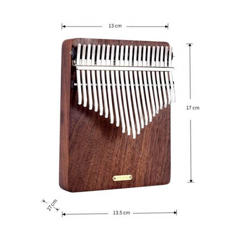 LingTing 21 Keys Walnut Wood Kalimba   Listen To The Rain