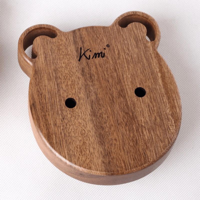 Kimi Merbau Wood kalimba Bear