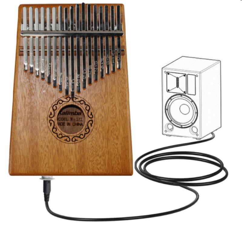 Electric Kalimba 17 Key KOA Wood