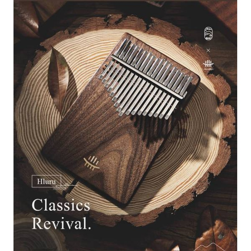 Hluru A Class 17 Keys Kalimba | Walnut Wood