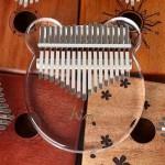 Acrylic Kalimba Bear 17 Keys