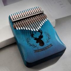 17 key Mahogany Kalimba | Reindeer Ergonomic
